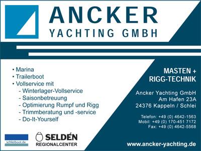 Anzeige | Ancker Yachting
