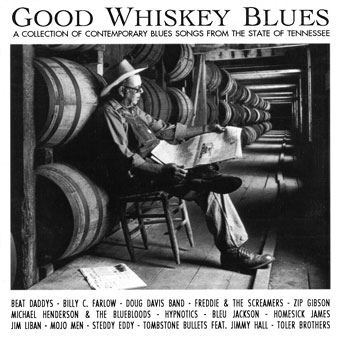 CD-Cover | Good Whiskey Blues