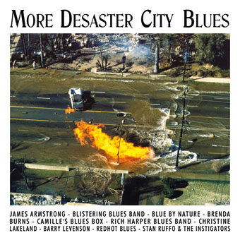 CD-Cover | More Desaster Blues