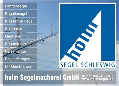 Anzeige Holm Segel