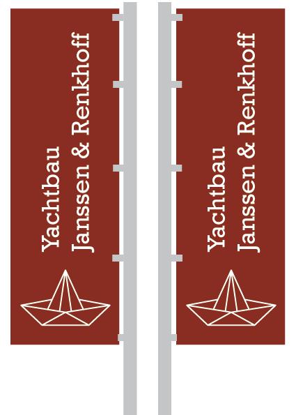 Flaggen Yachtbau Janssen & Renkhoff