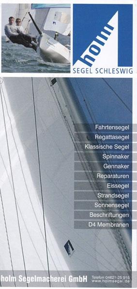 Flyer Holm Segel
