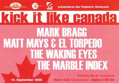 Flyer Kick It Like Canada