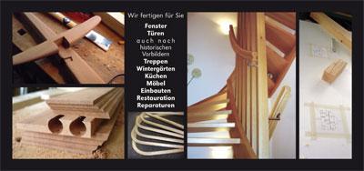 Flyer | Tischlerei Scholz