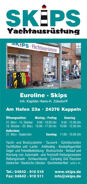 Flyer | Skips Yachtausrüstung