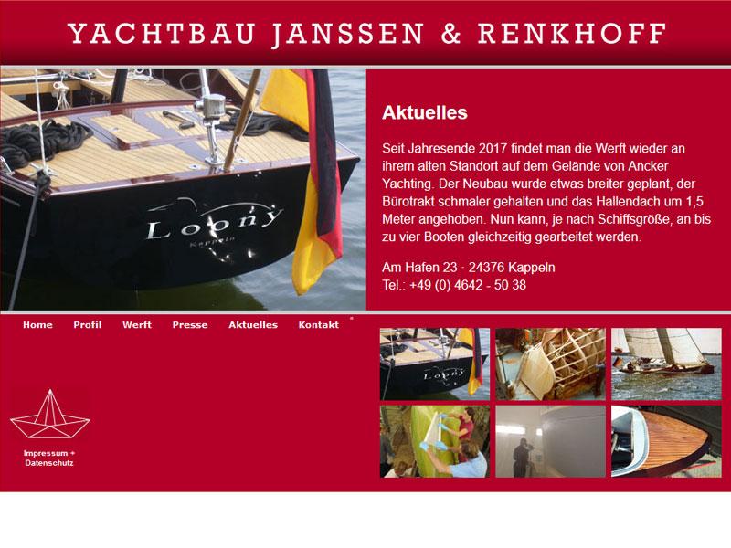 Yachtbau Janssen & Renkhoff