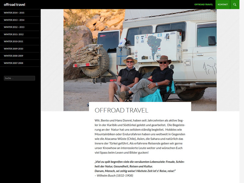 Offroad Travel