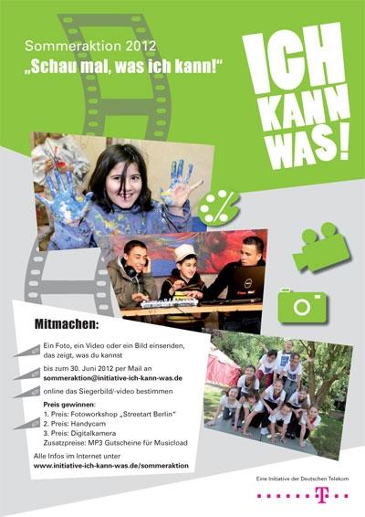 """Plakat """"Ich kann was!""""-Initiative"""