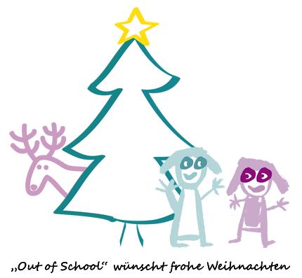 Weihnachtskarte | Out of School