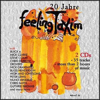 CD-Cover | Feeling Taxim