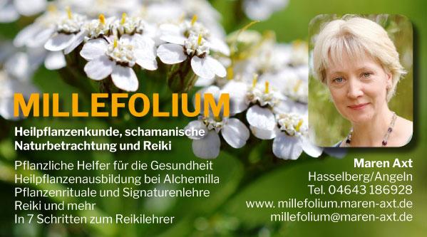 Anzeige | Millefoium – Maren Axt
