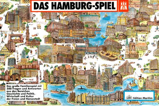 Das Hamburg-Spiel | Edition Maritim