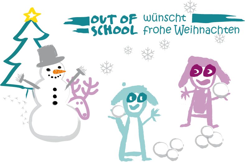 Weihnachtskarte | Out of School