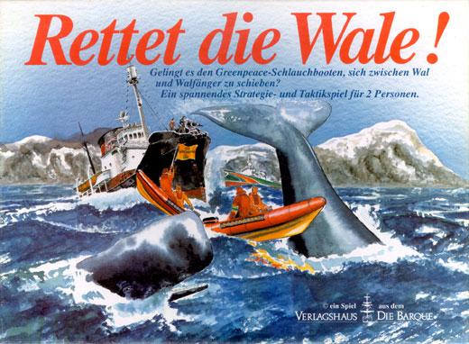Rettet die Wale! | Verlagshaus Die Barque