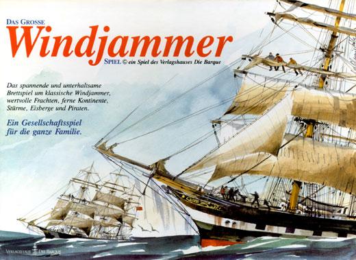Das Grosse Windjammer Spiel | Verlagshaus die Barque
