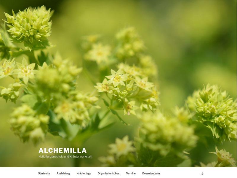 Heilpflanzenschule Alchemilla