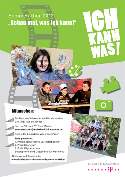 "Plakat | ""Ich kann was!""-Initiative"