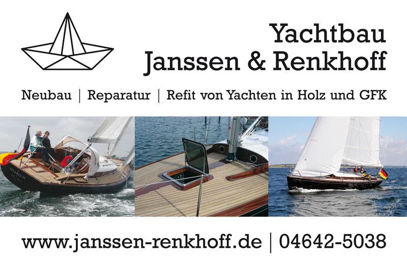 Werbetafel | Janssen & Renkhoff