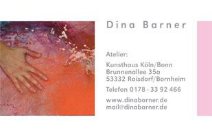 Visitenkarte | Dina Barner