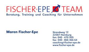 Visitenkarten | Fischer-Epe Team