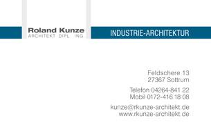 Visitenkarte | Roland Kunze