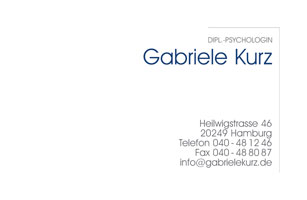 Visitenkarte | Gabriele Kurz
