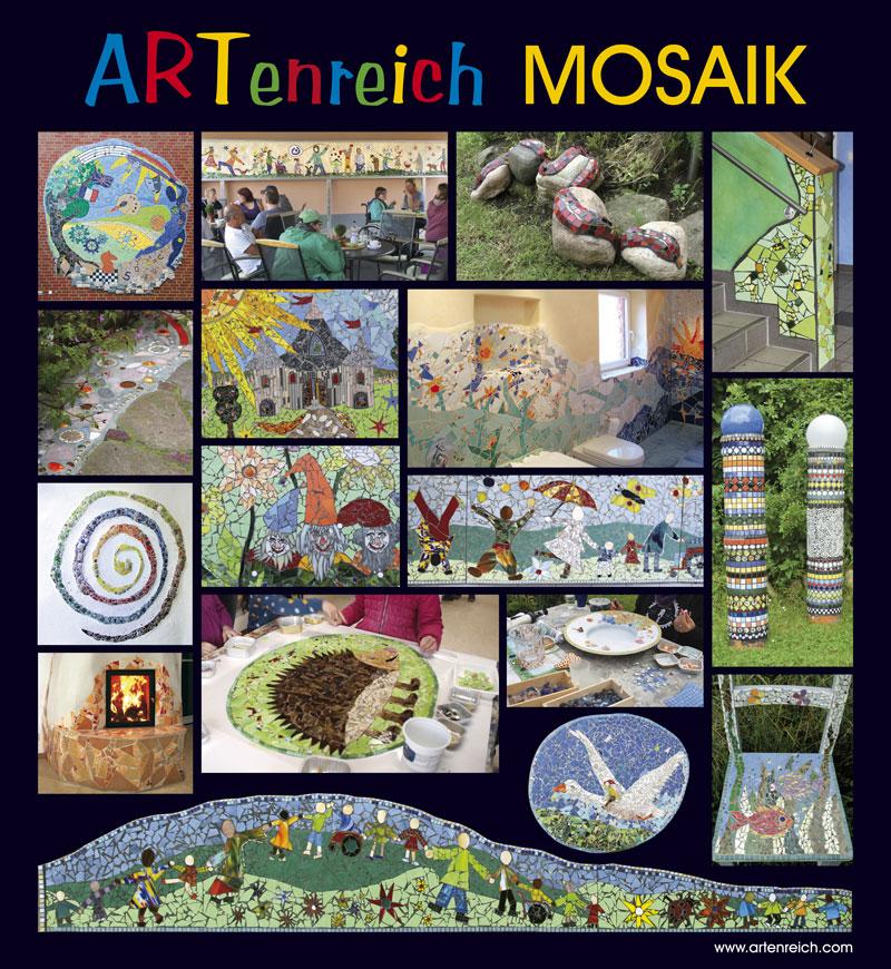 Plakat Artenreich Mosaik